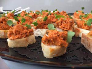 Tartinade au chorizo et lime