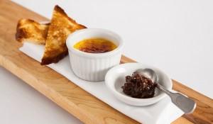 Crème brûlée de foie gras