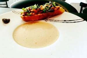 Bisque de homard maison