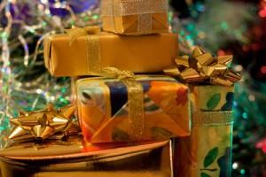 Cadeaux de Noel sous le sapin