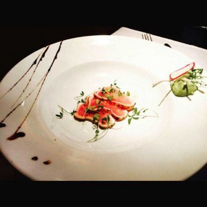 Thon albacore grillé aux épices