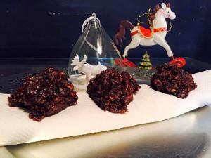 Rocher au chocolat et noix de coco de mon enfance