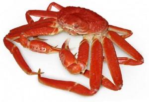 Le crabe et la gastronomie française